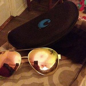 Costa Aviator sunglasses!